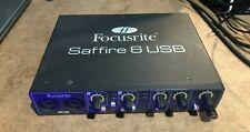 Focusrite Saffire 6 USB Digital Recording Interface