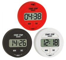 Elektronischer TIMER und STOPPUHR mit Befestigungs Magnet mit Alarm TFA Sport