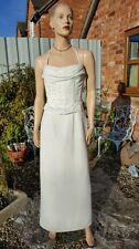 Romantica Ivory Wedding Dress Bridal Mother Bride Evening Cruise Ball 12