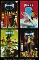 House Of M (2nd Series) 1 2 3 4 Complete Set Run Lot 1-4 VF/NM