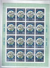 RUSSIE - RUSSIA Yvert n° 4617/4620 neuf sans charnière MNH en feuille de 16
