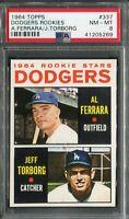 1964 Topps #337 Jeff Torborg Rookie! PSA 8 NM-MT