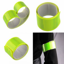 Bicycle Reflective Safe Leg Pants Clip Strap Beam Band Bottom Belt