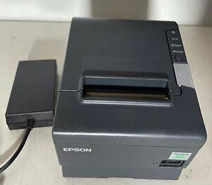 Kassenbondrucker Thermo-Drucker Bondrucker Epson TM-T88V Seriell / USB grau