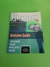 AQA Psychology for A Level Year 1 & AS - Revision Guide 9781908682444