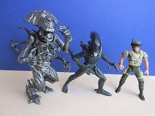 Vintage extraterrestres Figura de Acción Reina Guerrero Marine Corp Hicks KENNER 1992 Lote c41
