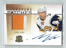 09-10 UD The Cup Signature Patches  Thomas Vanek  /75  Auto  Patch