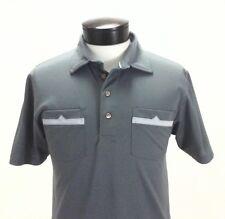 TRAVIS MATHEW Golf Polo Gray/Ash 2 Pockets Retro Active Shirt Men's M $85
