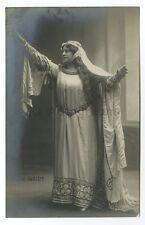 Lucie Weidt - German Dramatic Soprano - Vintage Silver Print Postcard