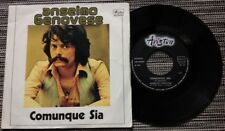 """ANSELMO GENOVESE / COMUNQUE SIA - 7"""" (printed in Italy - 1976)"""
