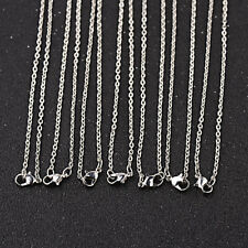 10Pcs Diy Jewelry Making Necklace Chain Craft Accessories Chain Bulk Lots 24'