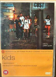 Kids DVD 1995 Controversial Larry Clark Drama with Chloe Sevigny Rosario Dawson