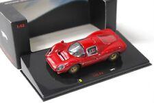 1:43 Hot Wheels Elite Ferrari 330 P4 Coupe red NEW bei PREMIUM-MODELCARS