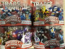 Transformers Robot Heroes G1 2006 LOT of 8 Unopened/Factory Sealed Optimus Prime