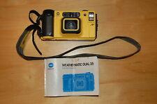Minolta Weathermatic Dual 35 Underwater 35mm Point & Shoot Film Camera Tested