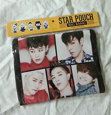 Bigbang Photo Star Pouch Make-up Case Multi Pouch Bag KPOP Gift K-POP SoftFabric