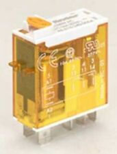 Finder MINIATURE LED RELAY 16A 1xC/O With High Load Switching- 24VAC Or 240VAC