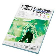 Ultimate Guard: 100 BIG Current Age Size Resealable Comic Book Storage Bags