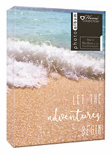 Photo Album Travel Beach Holiday Design Holds 80 4 x 6 Photographs Slip In TRHD3