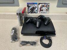 New listing Sony PlayStation 3 Slim - 160 Gb - Ps3 - Cech-3001A - 6 Games