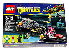TMNT Lego Signed by Kevin Eastman Stealth Shell In Pursuit #79102 MISB w/COA