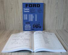 Ford Ersatzteilliste Teil 4 für Traktor 2600  - 7600