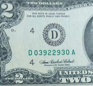 2003A $2.00 CLEVELAND RADAR # D03922930A - GEM CU!