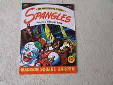 1943 Ringling Bros Continental circus Spangles Madison Square Garden Program 24p