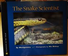 Scientists in the Field: The Snake Scientist by Sy Montgomery 1999 HC DJ 1st Prt