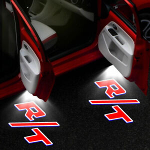 2X Courtesy Car Door Projector Shadow Light For For Dodge Challenger 2008 - 2019