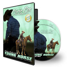 Putting A Handle On A Young Horse - Chris Cox - 2 DVD horse training dvd
