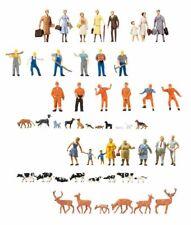 Faller H0 Figuren für Modellbahn - große Auswahl - Maßstab 1:87 - Figur Tiere