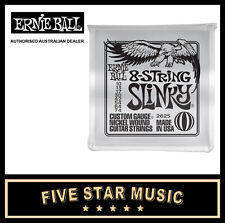 1 Pack Ernie Ball 8 String Set Slinky Electric Guitar Strings EB 2625