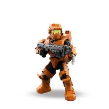 Mega Bloks Halo Charlie Unsc Spartan Mark Iv Orange With Tactical Shotgun Loose