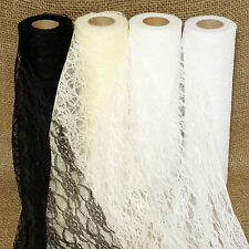 Lace Roll 30 cm x 22 metres Fabric Wedding Table Runners Vintage Decorations