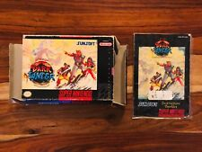 The Pirates of Dark Water Box and Manual ONLY Super Nintendo SNES