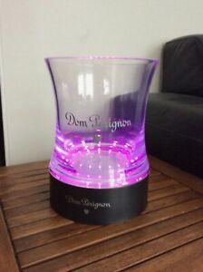Seau à champagne Dom Perignon + base lumineuse