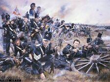 Napoleonic war Military Art Post Card 95th Rifles Battle of Fuentes De Onoro,