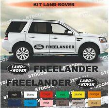 Land Rover - Freelander - kit Stickers adhésifs décoration - couleur au choix
