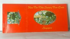 More details for singapore hwa par villa 8 postcard book unposted 1960's 8 tear out cards intact