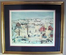 Will Moses THANKSGIVING SNOWS Limited Edition Signed & Numbered 362/1000