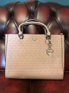 Guess TAPIA Tote Handbag Bnwt, Dusty Mauve