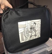 DISNEY PIN BAG Stitch Steamboat Willie  CASE ALBUM BOOK FOR DISNEY TRADING PINS