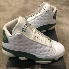 the best attitude f1172 6d22c Mens Air Jordan 13 PE Retro Ray Allen White Clover SZ 8 Used (replacement