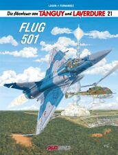 Die Abenteuer von Tanguy und Laverdure 21 - Flug 501 (Hardcover / HC) - NEUWARE