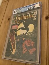 Fantastic Four #52 - 1st Appearance of Black Panther- CGC 4.0 - UK Price Variant