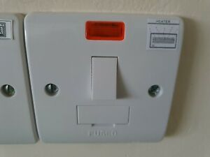 Scolmore Click 13A DP switched fuse spur with neon