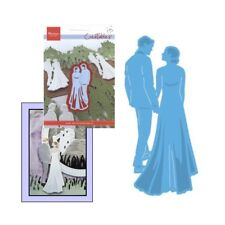 Wedding metal die Bride Groom Couple cutting dies Marianne LR0427