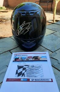 🔥 SIGNED RCR NASCAR DRIVER #3 AUSTIN DILLION FULL SIZED RACING HELMET CERTIFIED