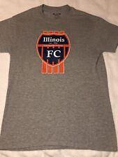 Illinois Fc champagne Urbana soccer T-shirt jersey small Illini Futbol Ac
